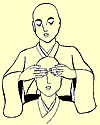 positions de mains reiki